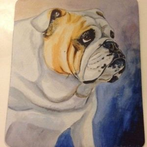 Other - English Bulldog Mouse Pad Pet Lover Gift New USA